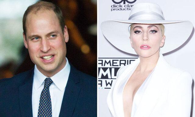 Lady Gaga och prins William pratar ut om psykisk ohälsa