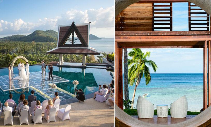 Bröllopsresa eller en kärleksfull semester för två? Här är världens 8 mest romantiska hotell