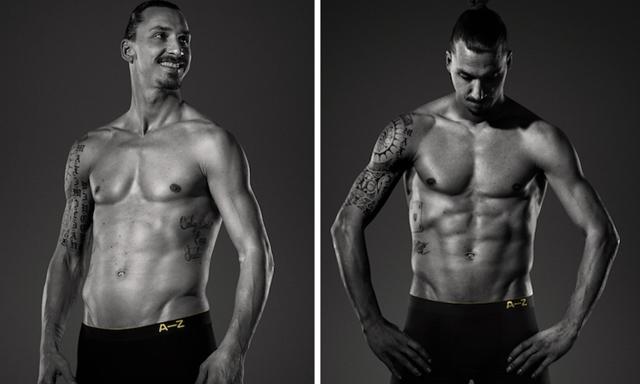 Zlatan utmanar Beckham och Ronaldo i ny kampanj för A-Z