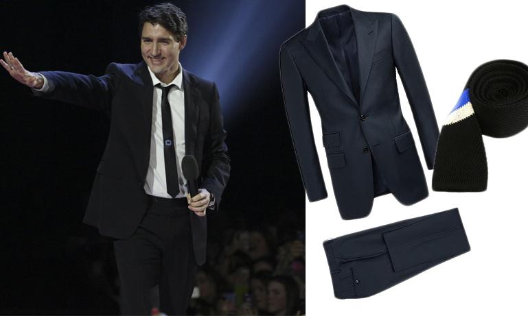 Sno stilen av Kanadas stilsäkra premiärminister Justin Trudeau