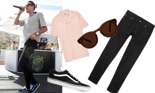 Sno stilen från de 6 bäst klädda killarna på Coachella