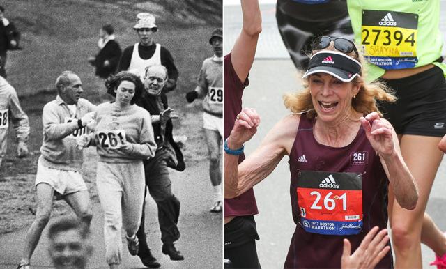 Första kvinnan i Boston Marathon återvände efter 50 år – mötte folkets jubel för sin kamp