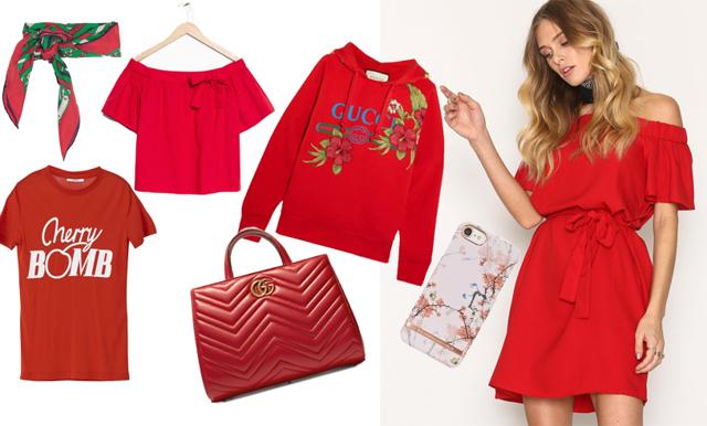 Hetaste färgen är röd! 18 plagg som fixar sommarens finaste stil