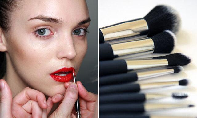 """Makeup-artisten: """"Så många sminkborstar behöver du egentligen"""""""