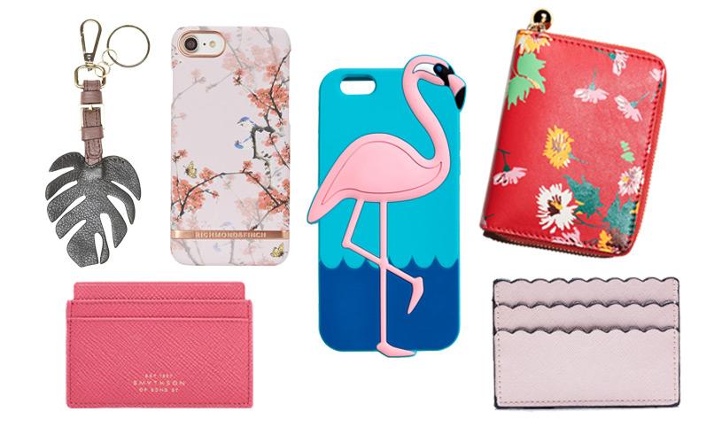 19 stilsäkra mobilskal, nyckelringar och plånböcker som uppdaterar din vardagslook