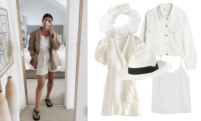 Hetaste sommartrenden är vit – 23 plagg att uppdatera garderoben med