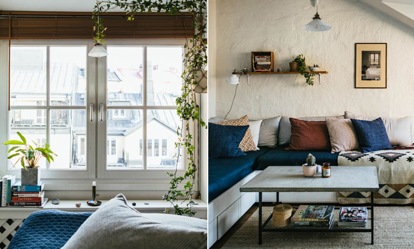 Veckans hem är en supermysig trea på Södermalm i Stockholm