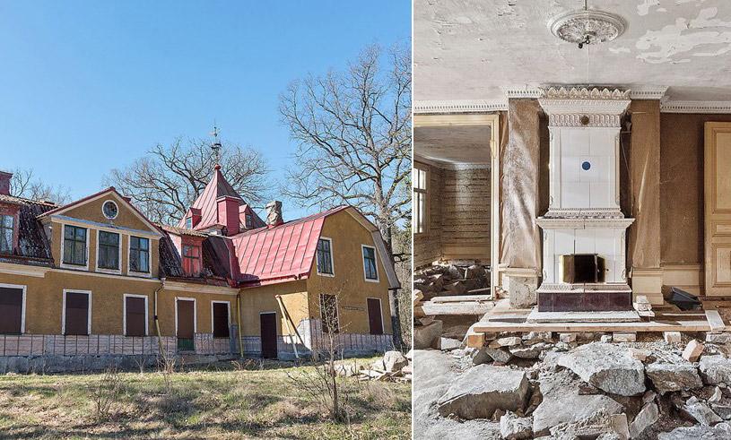 Kolla in herrgården i Huddinge – renoveringsobjektet alla pratar om just nu