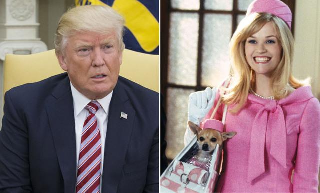 Se Donald Trumps tal kopierat från Legally Blonde – likheterna är slående