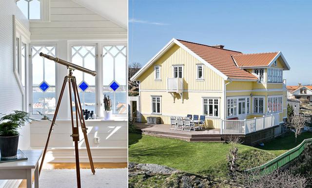 Veckans hem är den idylliska skärgårdsvillan i Göteborg