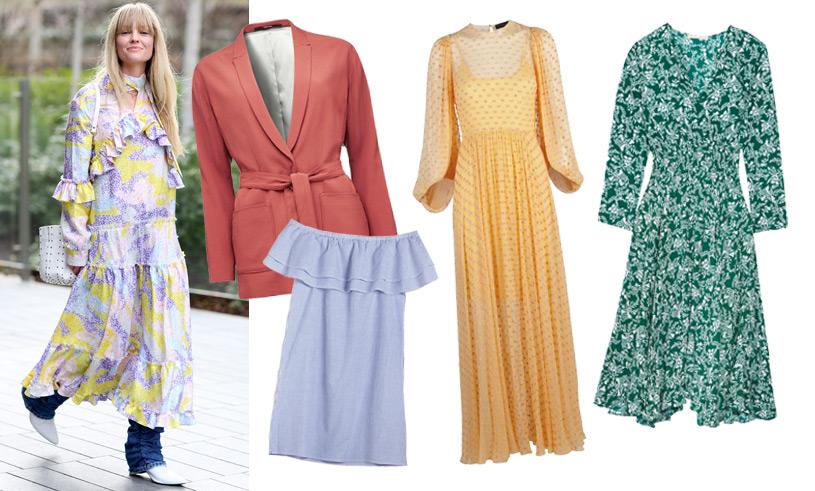 14 snyggaste plaggen till midsommar 2017: Klänningar, kjolar och kostymer