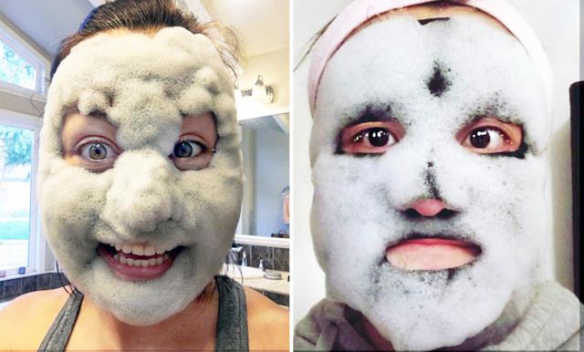 Senaste skönhetstrenden som tar över Instagram – koreansk bubble mask