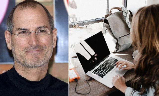 Kort klipp: Steve Jobs förklarar det enkla konceptet som ger dig nyckeln till framgång