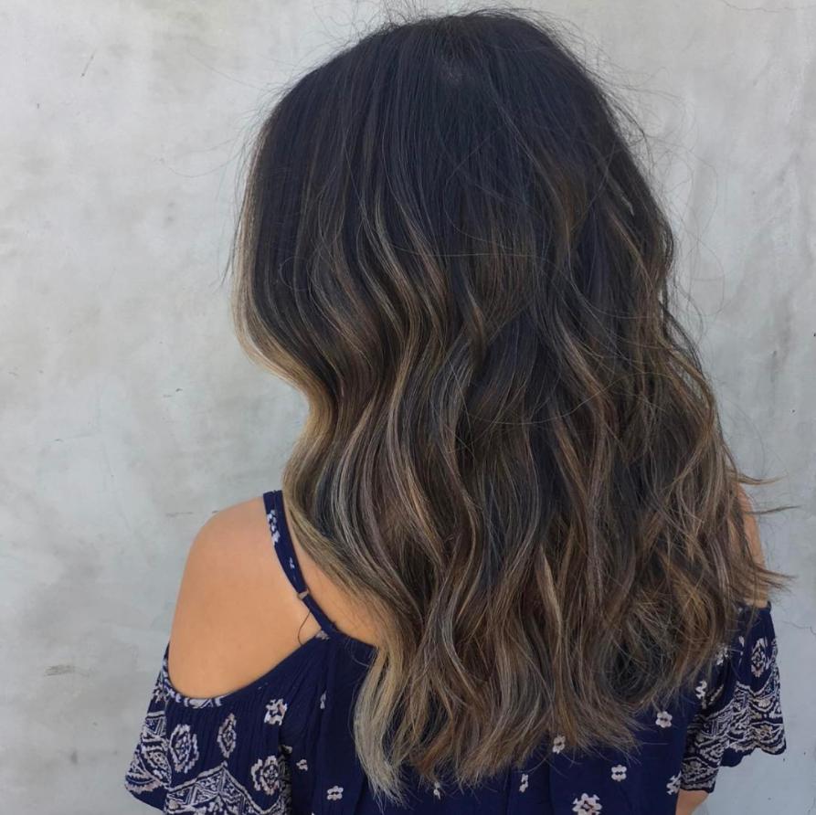 färga om håret