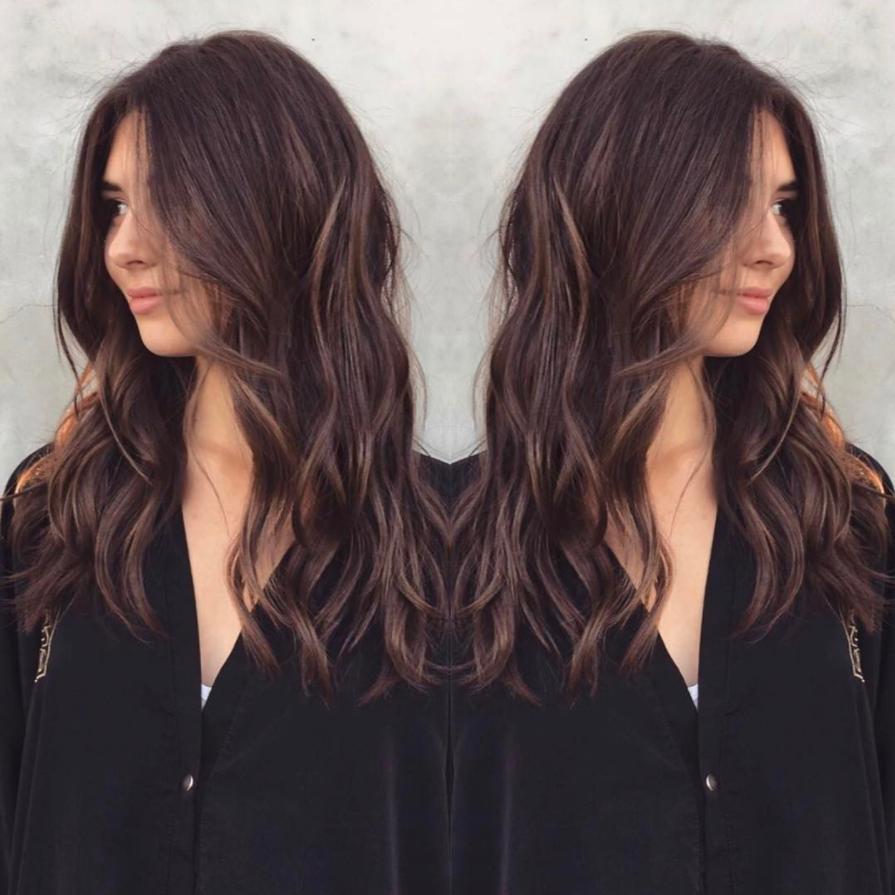 blondera håret från brunt