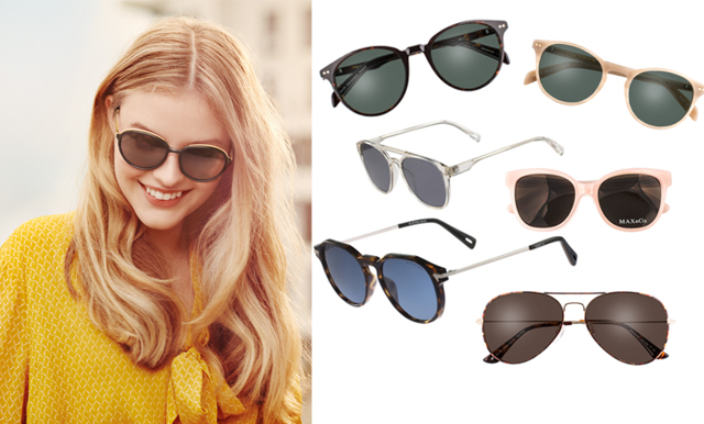 Uppdatera stilen med sommarens trendigaste solglasögon