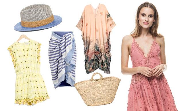 Strandhäng med stil! 16 stilsäkra klänningar, kaftaner och accessoarer till semestern