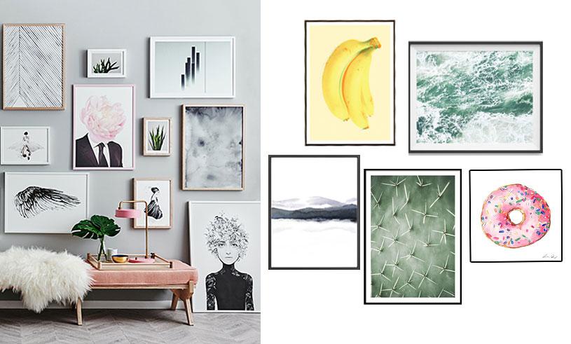 Förvandla ditt hem med vackra tavlor – 12 drömköp från budget till lyx