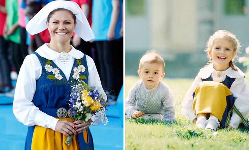 Se härligaste bilderna från kungafamiljens nationaldagsfirande
