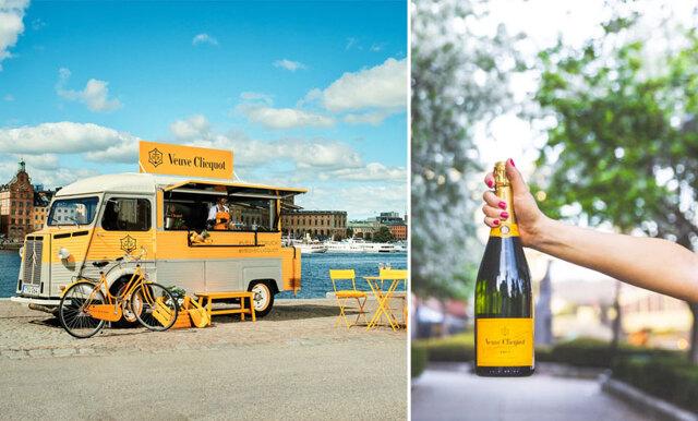 Sommaren är räddad – nu kör champagnetrucken ut på vägarna igen!