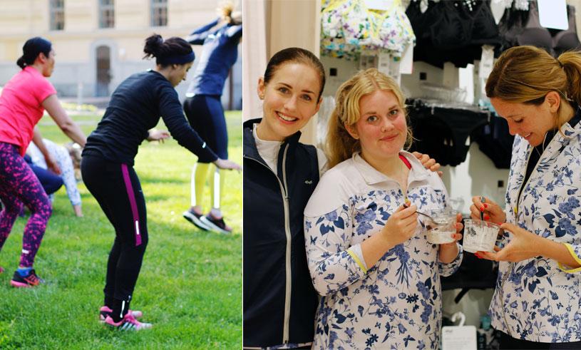 Bildspecial och alla styrkeövningar från Metro Mode Hälsopepps träningsevent