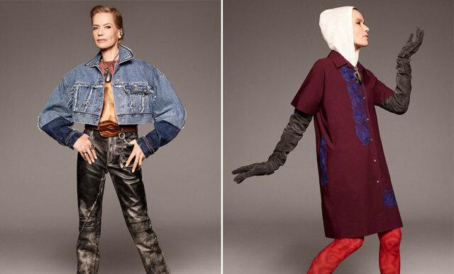 Acne Studios kollektion frontas av 78-årig supermodell (och visar att coolhet inte har en åldersgräns!)