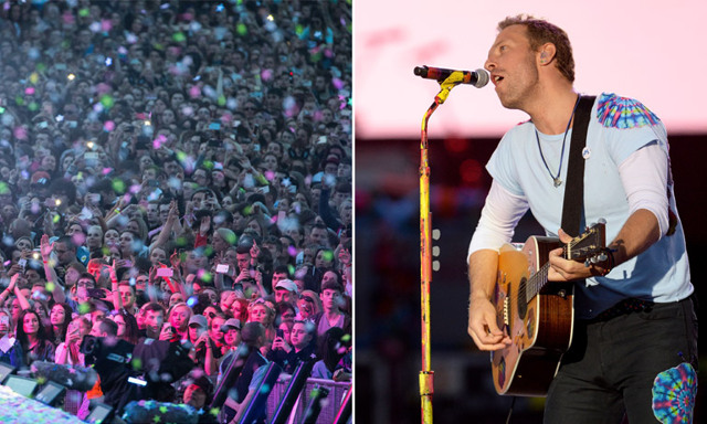 Coldplay hyllar offren i Manchester med finaste versionen av Fix You