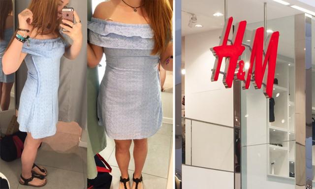 Studenten kritiserar H&M för deras små storlekar – och alla håller med henne