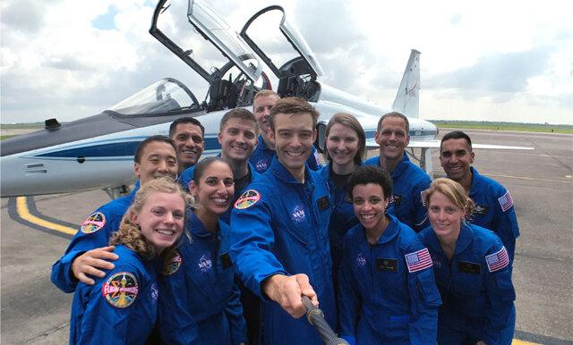 Det här är NASA:s nya avgångsklass (nästan hälften av astronauterna är kvinnor!)