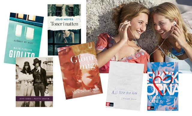 Metro Mode listar: 10 bästa böckerna att lyssna på i sommar