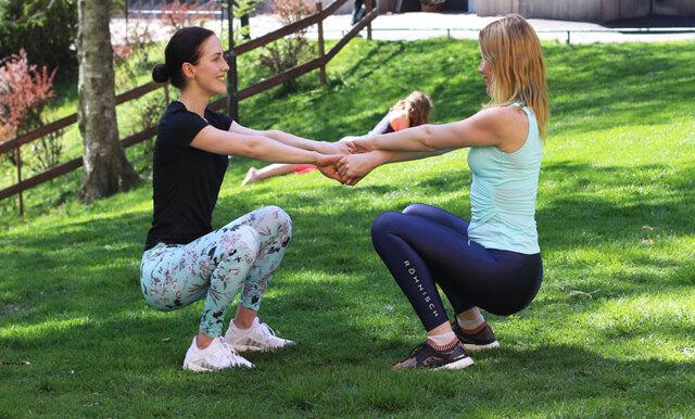 Metro Mode Hälsopepp: 6 svettiga parövningar som styrketränar hela kroppen