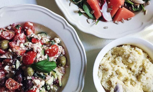 """Sommarens godaste grilltillbehör: """"Risotto"""" av couscous med parmesan"""