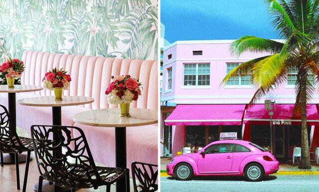 7 magiskt rosa restauranger som vi vill besöka – typ nu!