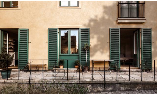 Känslan av ett helt egen hus på Södermalms bästa lägen kan bli sann