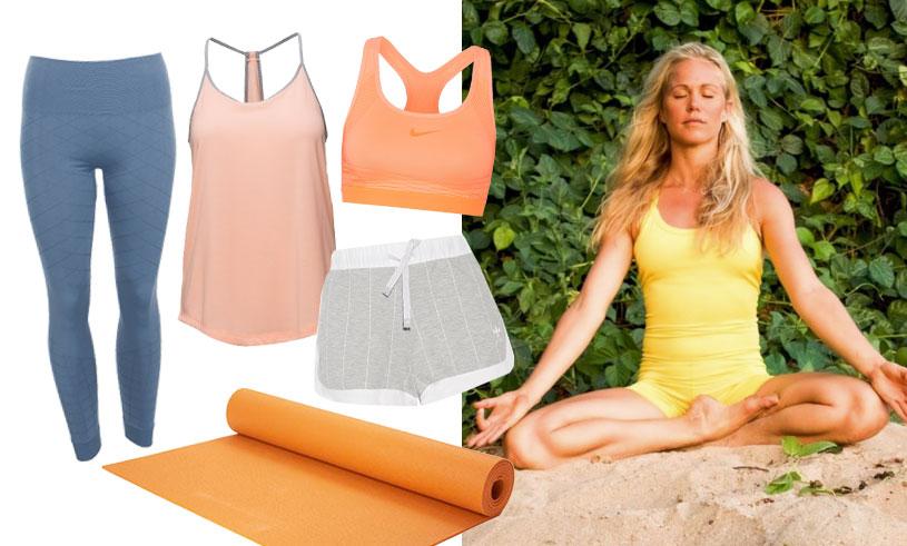 Sno sommarens snyggaste yogastil – 14 yogakläder i butik just nu