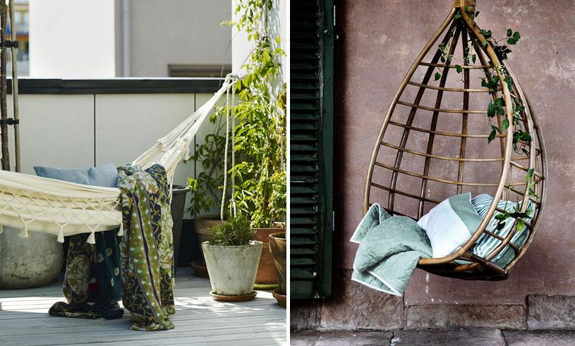 11 hängmattor och hängstolar som vi vill spendera sommaren i