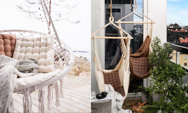 11 hängmattor och hängstolar för lata sommardagar