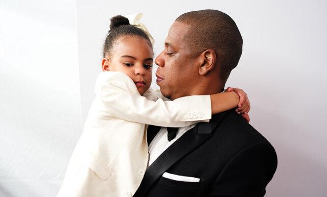 Lyssna när Blue Ivy rappar på pappa Jay-Zs senaste album