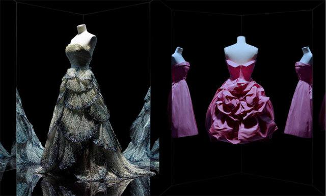 Dior visar drömlika klänningar på Paris största modeutställning någonsin