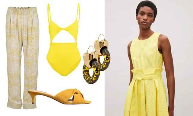 Färgen vi vill bära just nu – Pamela Bellafesta tipsar om sina 15 gula favoriter