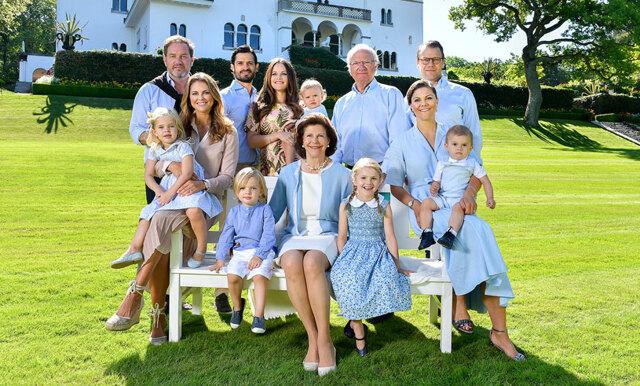 Kungafamiljens sommarhälsning till svenska folket