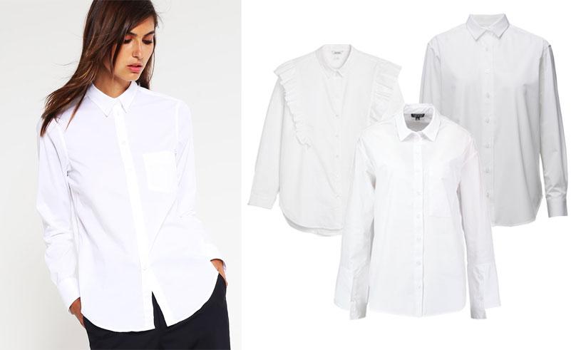 14 perfekta vita skjortor som passar till jobbet och till vardags