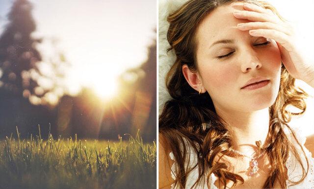 5 tips som får dig att somna - fast det är ljust ute och jättevarmt inne