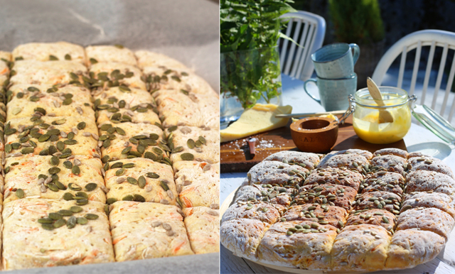 Saftigt brytbröd sätter pricken över i:et på middagsbjudningen