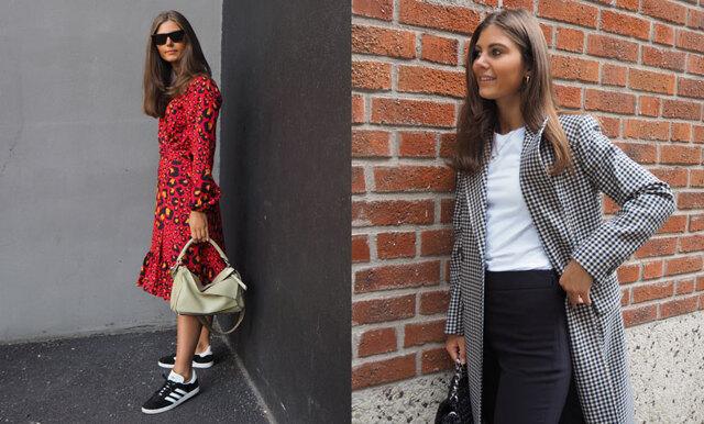 """Metro Modes nya modebloggare Paulina Forsberg: """"I höst kör jag all in på rutor och lack"""""""