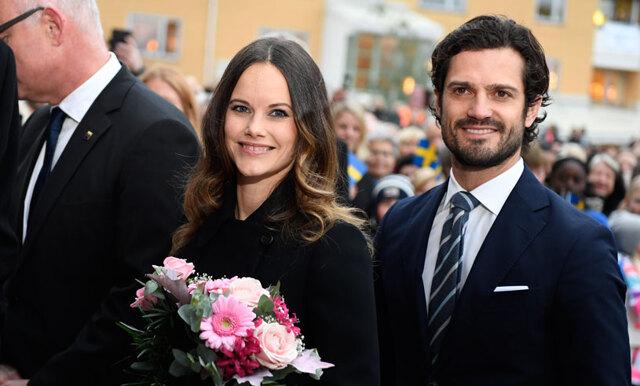 Prins Carl Philip och prinsessan Sofia har fått barn!