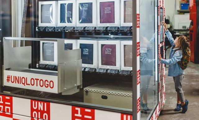 Nu kan du köpa Uniqlo i varuautomater