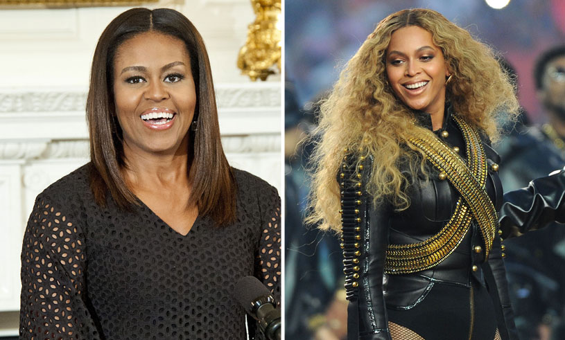 Bilden på Michelle Obama som Beyoncé är det coolaste vi sett!