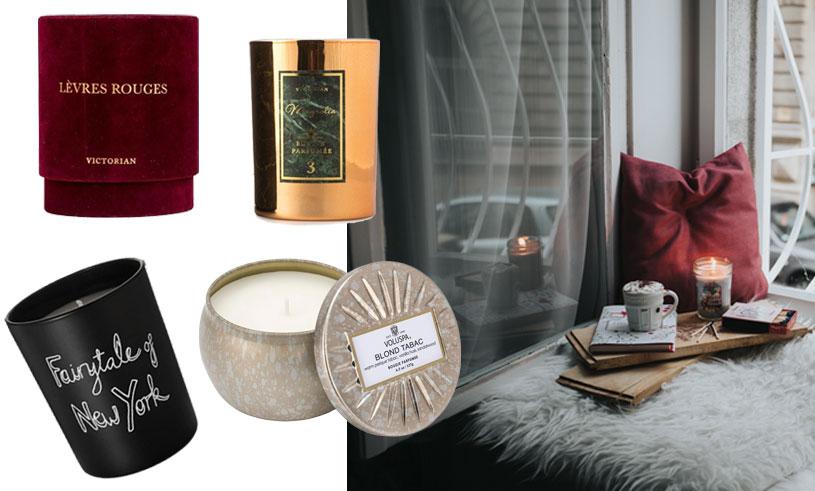 9 härliga doftljus vi önskar oss till mysiga hemmakvällar i höst