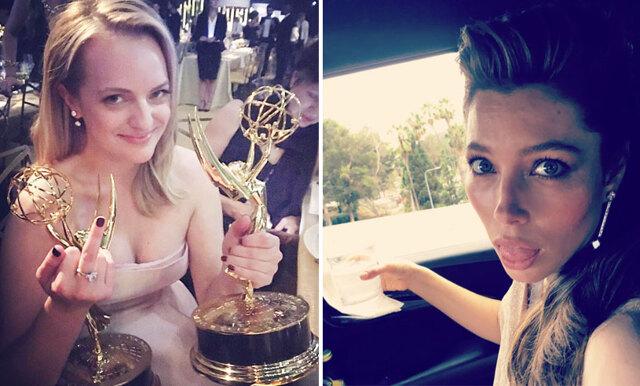 Kändisarnas bästa (och roligaste) Instagram-bilder från Emmy Awards